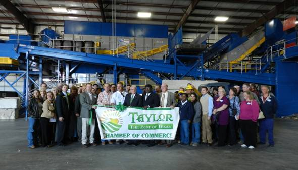 CP Group Grand Opening of Wilco Recycling Single Stream System